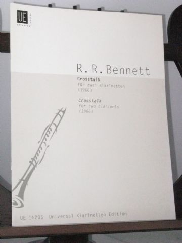 Bennett R R - Crosstalk for 2 Clarinets